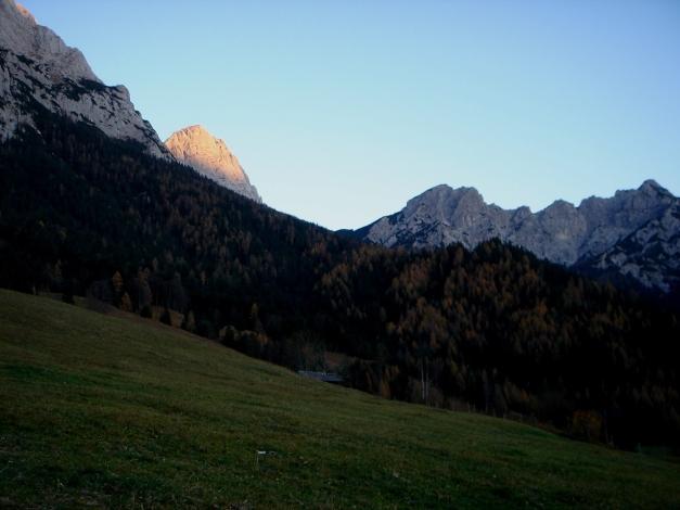 Foto: Manfred Karl / Wander Tour / Wagendrischlhorn Klettersteig / Eine lange Runde geht dem Ende zu / 31.08.2009 17:05:52