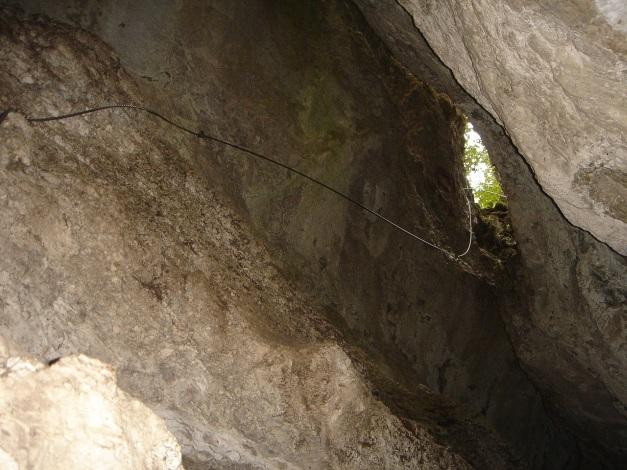 Foto: Manfred Karl / Klettersteig Tour / Klettersteige am Kanzianiberg / Für den Höhlensteig ist keine Taschenlampe nötig! / 04.07.2009 13:15:22