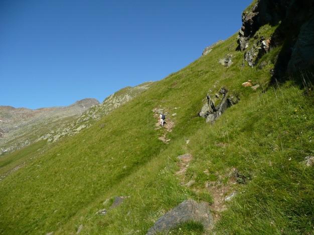 Foto: Manfred Karl / Wander Tour / Roteck – höchster Gipfel der Texelgruppe / 31.08.2009 15:40:23