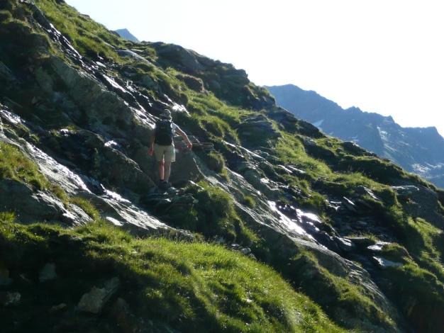 Foto: Manfred Karl / Wander Tour / Roteck – höchster Gipfel der Texelgruppe / 31.08.2009 15:39:46