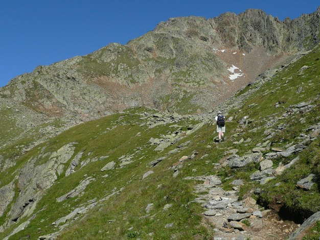 Foto: Manfred Karl / Wander Tour / Roteck – höchster Gipfel der Texelgruppe / 31.08.2009 15:39:35