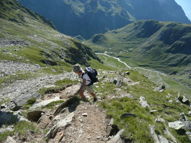 Foto: Manfred Karl / Wander Tour / Roteck – höchster Gipfel der Texelgruppe / 31.08.2009 15:39:23