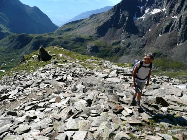 Foto: Manfred Karl / Wander Tour / Roteck – höchster Gipfel der Texelgruppe / 31.08.2009 15:39:12