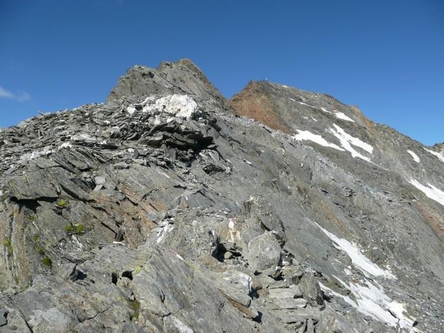 Foto: Manfred Karl / Wander Tour / Roteck – höchster Gipfel der Texelgruppe / Roteck Ostgrat / 31.08.2009 15:38:05