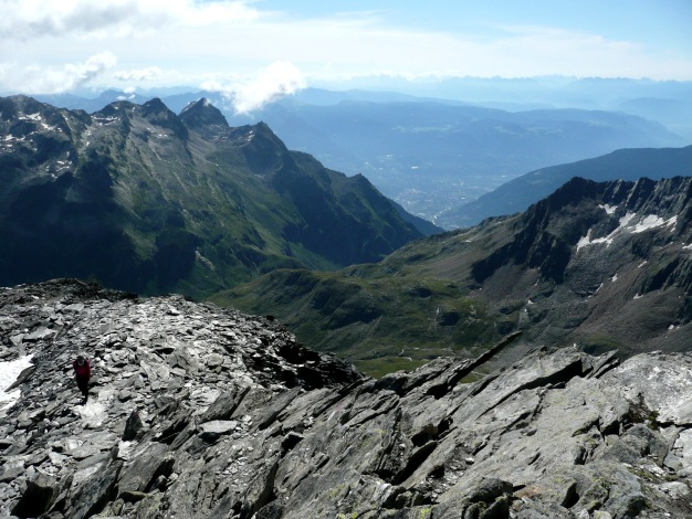 Foto: Manfred Karl / Wander Tour / Roteck – höchster Gipfel der Texelgruppe / 31.08.2009 15:37:43