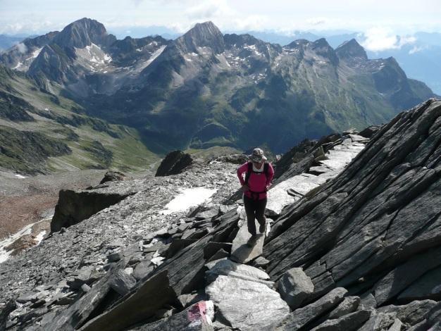 Foto: Manfred Karl / Wander Tour / Roteck – höchster Gipfel der Texelgruppe / 31.08.2009 15:37:32