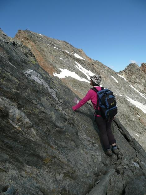 Foto: Manfred Karl / Wander Tour / Roteck – höchster Gipfel der Texelgruppe / 31.08.2009 15:37:19