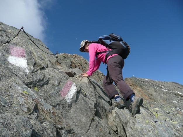 Foto: Manfred Karl / Wander Tour / Roteck – höchster Gipfel der Texelgruppe / 31.08.2009 15:37:05