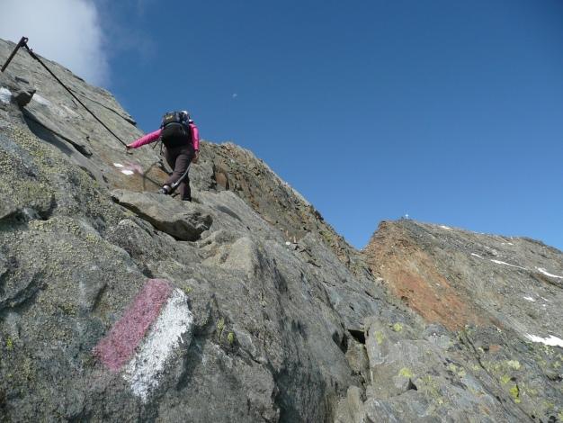 Foto: Manfred Karl / Wander Tour / Roteck – höchster Gipfel der Texelgruppe / 31.08.2009 15:36:35
