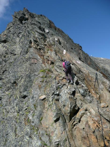 Foto: Manfred Karl / Wander Tour / Roteck – höchster Gipfel der Texelgruppe / 31.08.2009 15:36:21