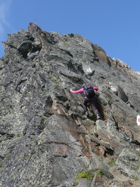 Foto: Manfred Karl / Wander Tour / Roteck – höchster Gipfel der Texelgruppe / 31.08.2009 15:36:05