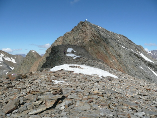 Foto: Manfred Karl / Wander Tour / Roteck – höchster Gipfel der Texelgruppe / 31.08.2009 15:35:39