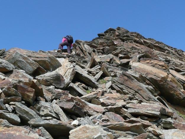 Foto: Manfred Karl / Wander Tour / Roteck – höchster Gipfel der Texelgruppe / 31.08.2009 15:35:01