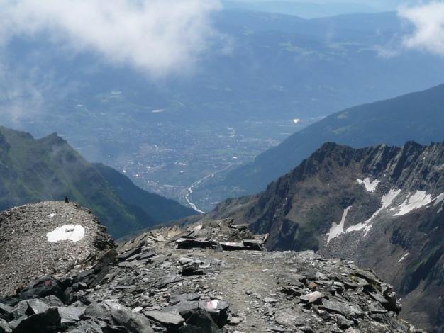 Foto: Manfred Karl / Wander Tour / Roteck – höchster Gipfel der Texelgruppe / 31.08.2009 15:34:23