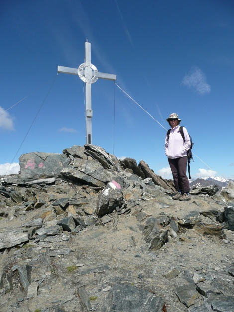 Foto: Manfred Karl / Wander Tour / Roteck – höchster Gipfel der Texelgruppe / 31.08.2009 15:30:31