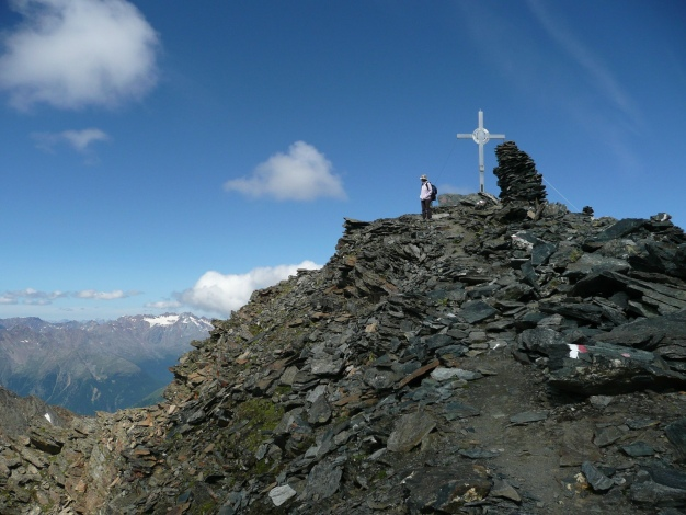 Foto: Manfred Karl / Wander Tour / Roteck – höchster Gipfel der Texelgruppe / 31.08.2009 15:30:18