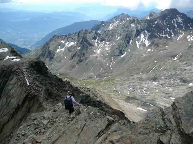 Foto: Manfred Karl / Wander Tour / Roteck – höchster Gipfel der Texelgruppe / 31.08.2009 15:30:08
