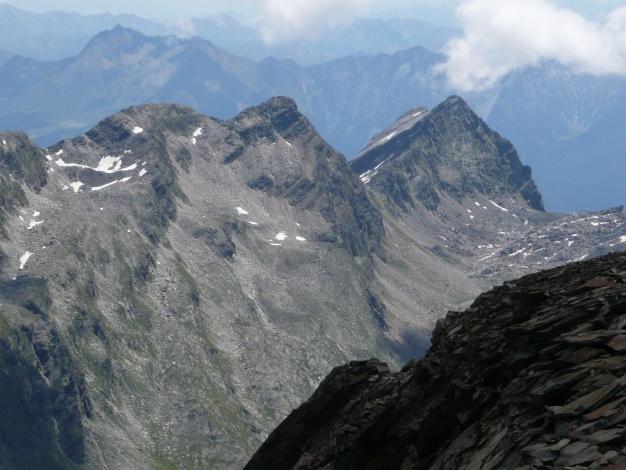 Foto: Manfred Karl / Wander Tour / Roteck – höchster Gipfel der Texelgruppe / Rötelspitz - Tschigat / 31.08.2009 15:29:46