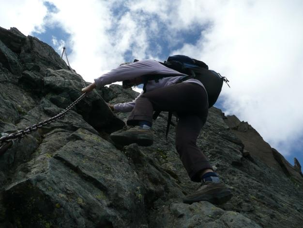Foto: Manfred Karl / Wander Tour / Roteck – höchster Gipfel der Texelgruppe / 31.08.2009 15:28:58