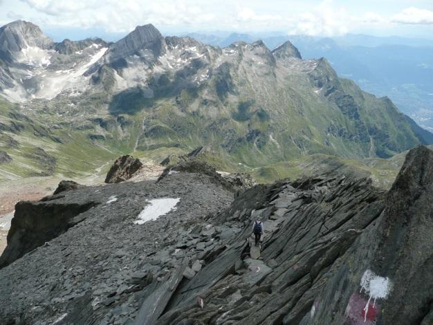 Foto: Manfred Karl / Wander Tour / Roteck – höchster Gipfel der Texelgruppe / 31.08.2009 15:27:54