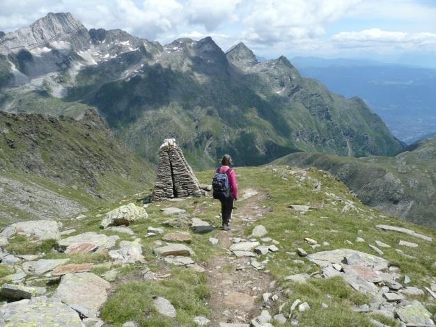 Foto: Manfred Karl / Wander Tour / Roteck – höchster Gipfel der Texelgruppe / 31.08.2009 15:27:42