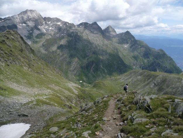 Foto: Manfred Karl / Wander Tour / Roteck – höchster Gipfel der Texelgruppe / 31.08.2009 15:26:43