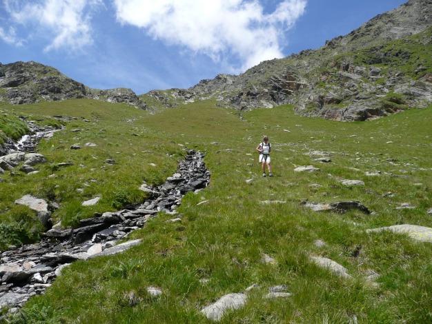 Foto: Manfred Karl / Wander Tour / Roteck – höchster Gipfel der Texelgruppe / 31.08.2009 15:25:36