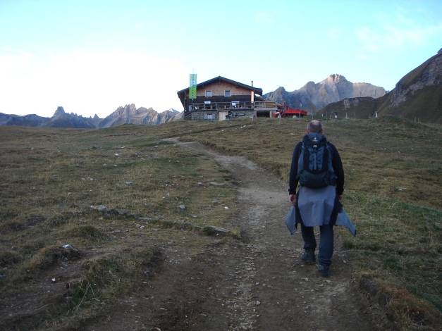Foto: Manfred Karl / Wander Tour / Wilde Kreuzspitze – Highlight der Pfunderer Berge / Brixner Hütte / 31.08.2009 19:18:14