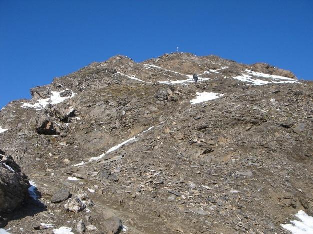 Foto: Manfred Karl / Wander Tour / Wilde Kreuzspitze – Highlight der Pfunderer Berge / Gipfelhang / 31.08.2009 19:10:00