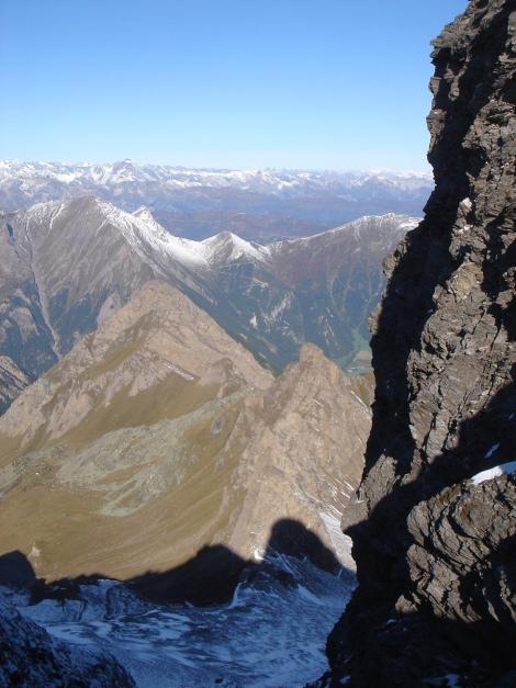 Foto: Manfred Karl / Wander Tour / Wilde Kreuzspitze – Highlight der Pfunderer Berge / In der Scharte zwischen den beiden Gipfeln der Kreuzspitze / 31.08.2009 19:05:31