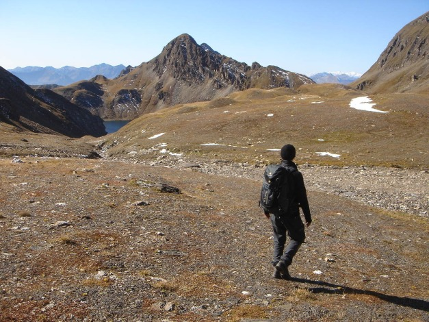 Foto: Manfred Karl / Wander Tour / Wilde Kreuzspitze – Highlight der Pfunderer Berge / Abstieg zum Wilden See / 31.08.2009 19:04:22