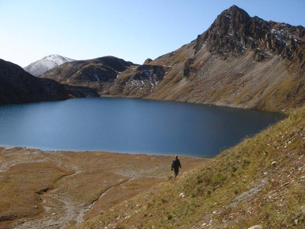 Foto: Manfred Karl / Wander Tour / Wilde Kreuzspitze – Highlight der Pfunderer Berge / Der Weg in ein kleines Paradies / 31.08.2009 19:03:53