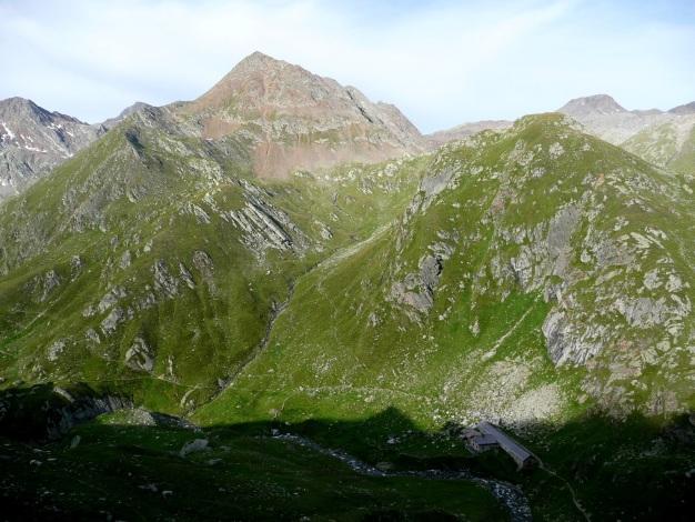 Foto: Manfred Karl / Wander Tour / Tschigat - markanter Gipfel über Meran / Blasiuszeiger (siehe Alpintouren.com) / 31.08.2009 15:21:15