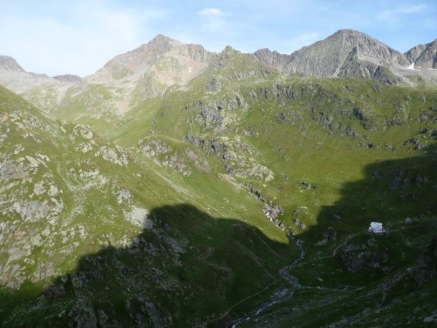 Foto: Manfred Karl / Wander Tour / Tschigat - markanter Gipfel über Meran / 31.08.2009 15:20:44