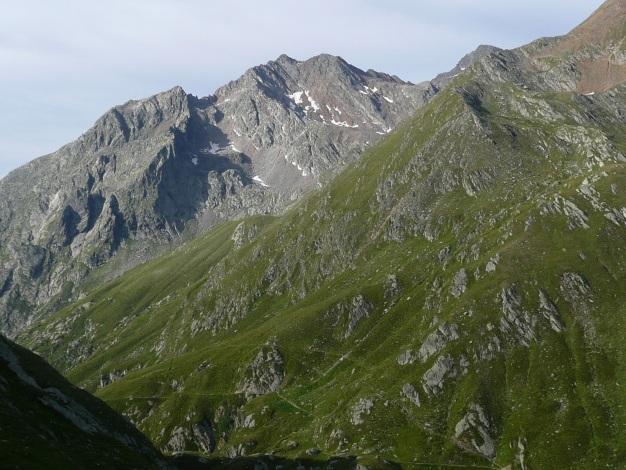 Foto: Manfred Karl / Wander Tour / Tschigat - markanter Gipfel über Meran / Zielspitze (siehe Alpintouren.com) / 31.08.2009 15:20:30