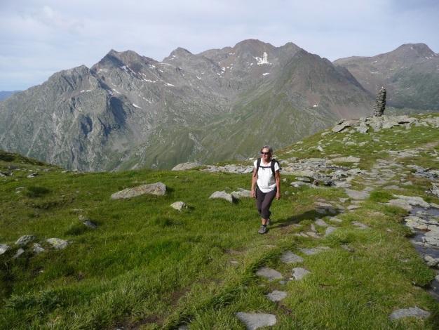 Foto: Manfred Karl / Wander Tour / Tschigat - markanter Gipfel über Meran / 31.08.2009 15:19:35