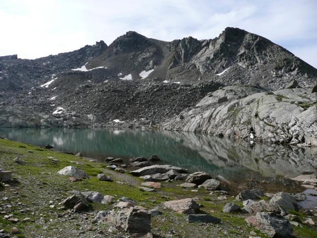 Foto: Manfred Karl / Wander Tour / Tschigat - markanter Gipfel über Meran / Tablander Lacken / 31.08.2009 15:18:42