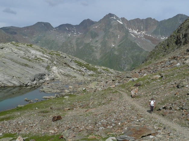 Foto: Manfred Karl / Wander Tour / Tschigat - markanter Gipfel über Meran / 31.08.2009 15:18:19