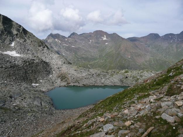 Foto: Manfred Karl / Wander Tour / Tschigat - markanter Gipfel über Meran / Tablander Lacken / 31.08.2009 15:18:06