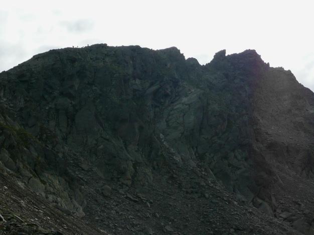 Foto: Manfred Karl / Wander Tour / Tschigat - markanter Gipfel über Meran / Nordwestgrat vom Tschigat / 31.08.2009 15:17:32