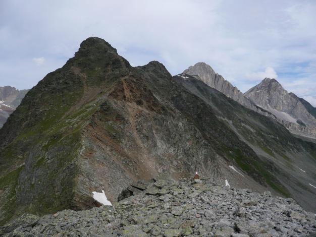 Foto: Manfred Karl / Wander Tour / Tschigat - markanter Gipfel über Meran / 31.08.2009 15:16:11