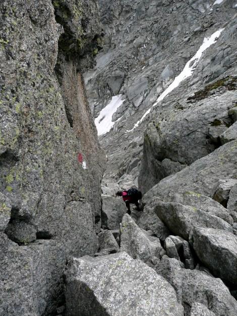 Foto: Manfred Karl / Wander Tour / Tschigat - markanter Gipfel über Meran / 31.08.2009 15:15:57