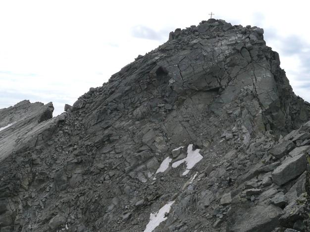 Foto: Manfred Karl / Wander Tour / Tschigat - markanter Gipfel über Meran / 31.08.2009 15:15:44