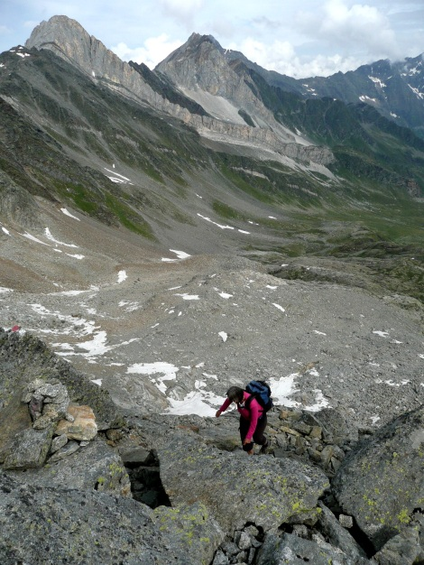 Foto: Manfred Karl / Wander Tour / Tschigat - markanter Gipfel über Meran / 31.08.2009 15:15:32