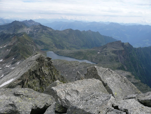 Foto: Manfred Karl / Wander Tour / Tschigat - markanter Gipfel über Meran / 31.08.2009 15:15:16