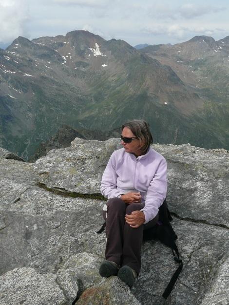 Foto: Manfred Karl / Wander Tour / Tschigat - markanter Gipfel über Meran / 31.08.2009 15:14:29