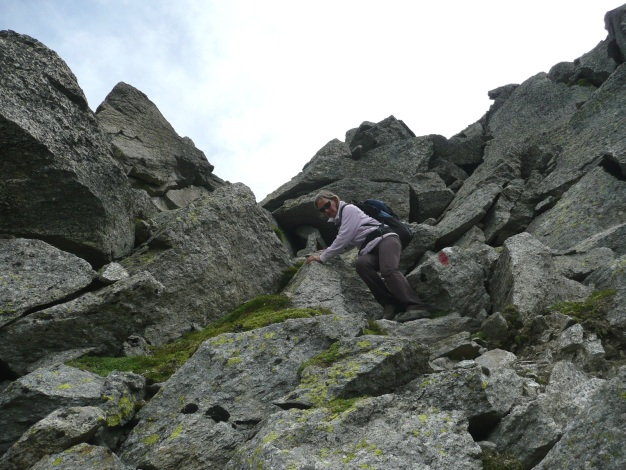 Foto: Manfred Karl / Wander Tour / Tschigat - markanter Gipfel über Meran / 31.08.2009 15:10:49
