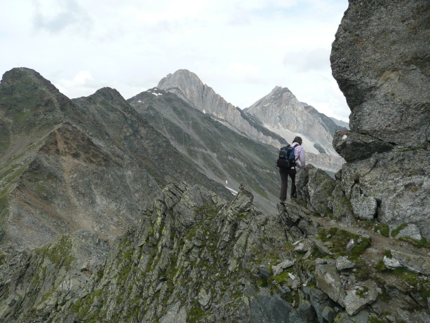 Foto: Manfred Karl / Wander Tour / Tschigat - markanter Gipfel über Meran / 31.08.2009 15:10:36