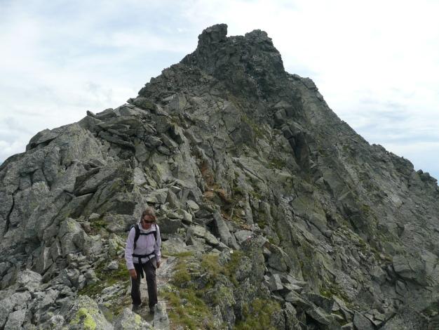 Foto: Manfred Karl / Wander Tour / Tschigat - markanter Gipfel über Meran / 31.08.2009 15:07:32
