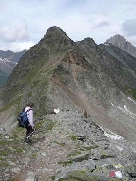 Foto: Manfred Karl / Wander Tour / Tschigat - markanter Gipfel über Meran / 31.08.2009 15:06:55